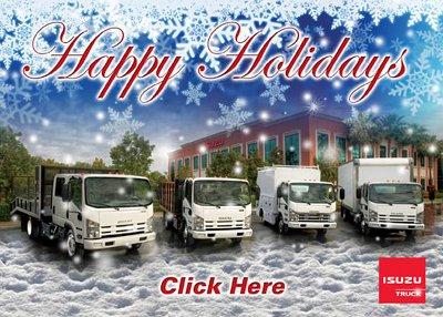 Happy Holidays From Isuzu